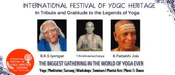 the international festival of yogic heritage