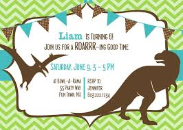 Invitation Card On Birthday How To Create Dinosaur Birthday Invitations U2014 All Invitations Ideas