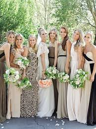 mix match bridesmaid dresses vintage inspired real wedding with mix n match bridesmaids dresses