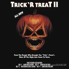 the horrors of halloween new trick u0027r treat ii print and t shirt
