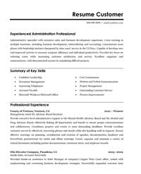 Sample Resume Of Executive Assistant by Sample Resume For An Administrative Assistant