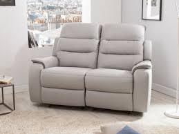 canapé 2 places en cuir canapé cuir authenticité et design dans votre salon