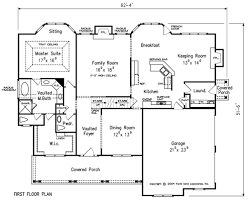 House Plans With Keeping Rooms Waterman House Floor Plan Frank Betz Associates
