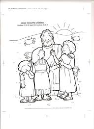 of jesus with children free coloring pages on art coloring pages