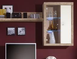 Wohnzimmerschrank 300 Cm Wohnwand Lamount B 284x202x50 Cm Eiche Magnolie Schrank Wohnzimmer
