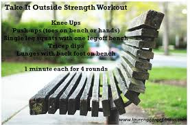 outdoor weight training bench bench decoration