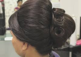 juda hairstyle steps indian bridal hairstyle for short hair step by step tutorial