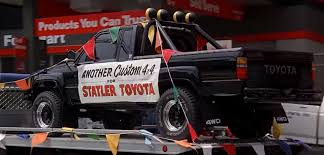 monster trucks grave digger bad to the bone carcheology building a marty mcfly 1985 toyota truck star car
