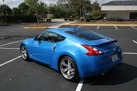 nissan sports car blue 2009 nissan 370z new car reviews grassroots motorsports