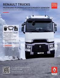 renault truck 2016 pakiety serwisowe zima 2016 2017 samochody ciężarowe renault