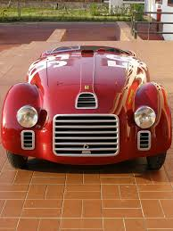 ferrari grill the ferrari 125 s sport v12 1947 the first racing sports car