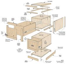 Wood Lateral File Cabinet Plans Modular File Cabinets Woodsmith Plans