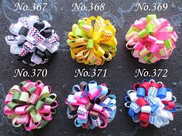 loopy bow 30 blessing girl c loopy puffs ribbon 2 5 hair accessories