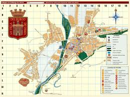 Plano Map Callejero De El Burgo De Osma Mapas Y Planos Pinterest