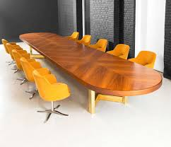 5 foot conference table 23 foot conference table in rosewood with brass base for sale at 1stdibs