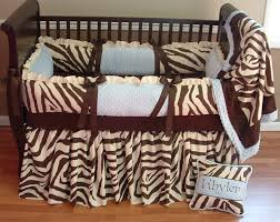 Nursery Bedding And Curtains by Khyler Chocolate And Cream Zebra Boy Baby Bedding