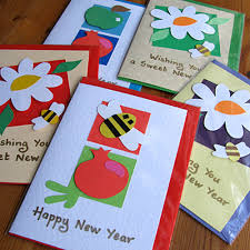 different ideas to make new year handmade cards handmade4cards
