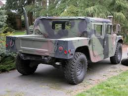 image detail for 1985 military camo hummer exstream hummer h1