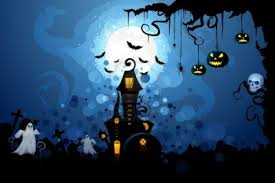 haunted house wallpaper background halloween wallpaper