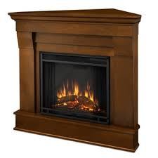 Electric Corner Fireplace Real Chateau Corner Electric Fireplace Espresso Free