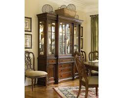 Break Front Cabinet Breakfront China Cabinet Dining Room Furniture Thomasville