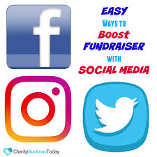 charity fundraising invitation letter free fundraiser flyer charity auctions today easy ways to use social media to boost your fundraiser