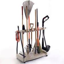 Organizer For Garage - suncast garden tool racks ebay