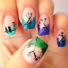 50 watercolor nail art ideas mountain background nail nail and