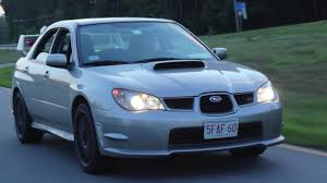 subaru impreza modified blue 2006 hawkeye subaru sti review youtube