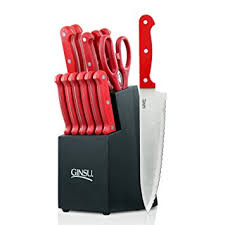 essential kitchen knives ginsu essential series 14 stainless steel