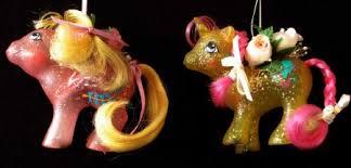 1990 my pony ornaments elkins