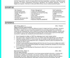 Construction Superintendent Resume Templates Sample Resume For Construction Superintendent Construction