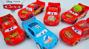 disney pixar cars 6 pack lightning mcqueen special editions dinoco