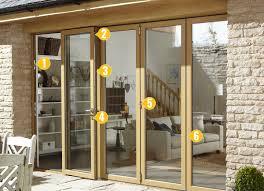 Aluminium Patio Doors Prices by Bi Fold Doors Edinburgh Aluminium Bi Folding Doors Glasgow