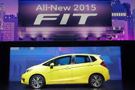 Honda Fit Spec Honda Reveals New Us Spec 2015 Fit In Detroit Will Be Made In Mexico