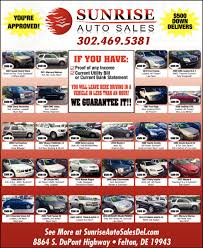 re approved sunrise auto sales