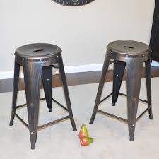 Counter Stool Backless Carolina Chair U0026 Table Co Eila 24 In Backless Metal Counter