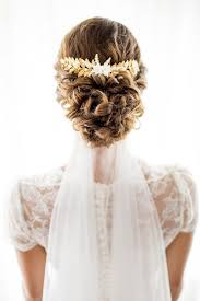 bridal hair comb gold leaves bridal hair comb clemente