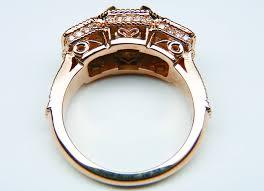 asscher cut diamond engagement rings asscher engagement rings from mdc diamonds nyc