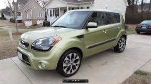 kia cube 2013 kia soul start up exhaust in depth review and brief test