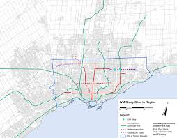 Canada Rail Map by 2015 Light Rail Train Urban Corridor Toronto Canada Sss