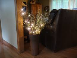 Tall Floor Vases Home Decor by Decorating Beautiful Lighted Branches For Home Accessories Ideas