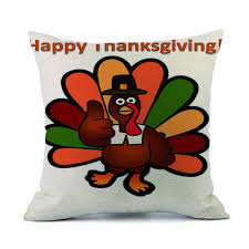 online get cheap turkey chair covers aliexpress com alibaba group happy thanksgiving day turkey pillow cases linen sofa cushion cover for sofa seat car decoration pillow case cover home decor