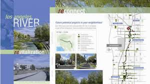 Los Angeles Neighborhood Council Map by Maps And Guides Los Angeles River Revitalization