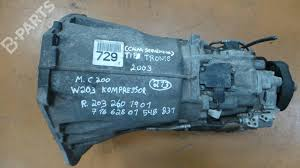 manual gearbox mercedes benz