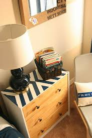 d o chambre b ikea rast hack paint and stain to a plain nightstand