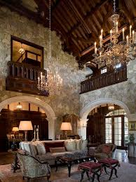 absorbing tuscan style for living room decorating offer lively