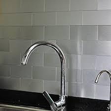 wall tile kitchen backsplash amazon com art3d 100 pieces peel and stick tile kitchen