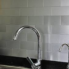 metal wall tiles kitchen backsplash art3d 100 pieces peel and stick tile kitchen