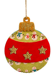 nicole crafts hanging wood christmas ball ornaments craft